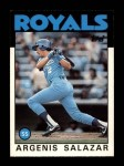1986 Topps Traded #96 T Angel Salazar  Front Thumbnail