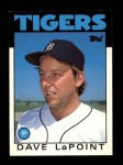 1986 Topps Traded #61 T Dave LaPoint  Front Thumbnail