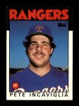 1986 Topps Traded #48 T Pete Incaviglia  Front Thumbnail
