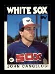 1986 Topps Traded #19 T John Cangelosi  Front Thumbnail