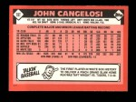 1986 Topps Traded #19 T John Cangelosi  Back Thumbnail
