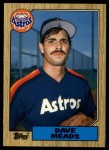 1987 Topps Traded #77 T Dave Meads  Front Thumbnail