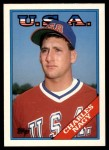 1988 Topps Traded #74 T  -  Charles Nagy Team USA Front Thumbnail