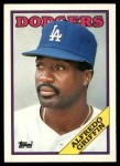1988 Topps Traded #43 T Alfredo Griffin  Front Thumbnail