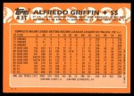 1988 Topps Traded #43 T Alfredo Griffin  Back Thumbnail