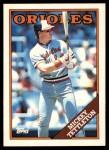 1988 Topps Traded #120 T Mickey Tettleton  Front Thumbnail