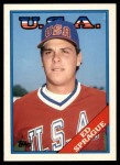 1988 Topps Traded #113 T  -  Ed Sprague Team USA Front Thumbnail