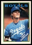 1988 Topps Traded #118 T Pat Tabler  Front Thumbnail