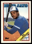 1988 Topps Traded #24 T Sil Campusano  Front Thumbnail