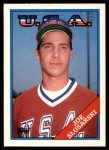 1988 Topps Traded #109 T  -  Joe Slusarski Team USA Front Thumbnail