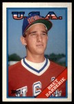 1988 Topps Traded #9 T  -  Bret Barberie Team USA Front Thumbnail