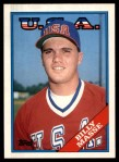 1988 Topps Traded #67 T  -  Billy Masse Team USA Front Thumbnail