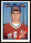 1988 Topps Traded #106 T  -  Scott Servais Team USA Front Thumbnail