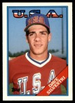 1988 Topps Traded #107 T  -  Dave Silvestri Team USA Front Thumbnail