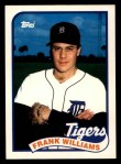 1989 Topps Traded #128 T Frank Williams  Front Thumbnail