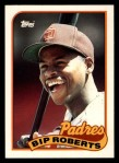 1989 Topps Traded #103 T Bip Roberts  Front Thumbnail