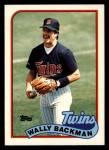 1989 Topps Traded #5 T Wally Backman  Front Thumbnail