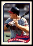 1989 Topps Traded #88 T Pete O'Brien  Front Thumbnail
