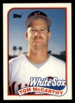 1989 Topps Traded #75 T Tom McCarthy  Front Thumbnail