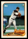 1989 Topps Traded #117 T Walt Terrell  Front Thumbnail
