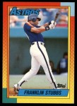 1990 Topps Traded #120 T Franklin Stubbs  Front Thumbnail