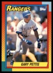 1990 Topps Traded #94 T Gary Pettis  Front Thumbnail