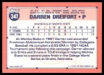 1991 Topps Traded #34 T  -  Darren Dreifort Team USA Back Thumbnail