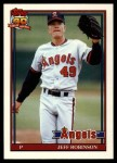 1991 Topps Traded #99 T Jeff D. Robinson  Front Thumbnail