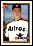 1991 Topps Traded #53 T Pete Harnisch  Front Thumbnail