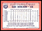 1991 Topps Traded #13 T Sid Bream  Back Thumbnail