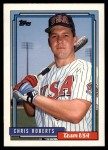 1992 Topps Traded #93 T  -  Chris Roberts Team USA Front Thumbnail