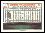 1992 Topps Traded #117 T Eddie Taubensee  Back Thumbnail