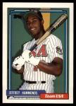 1992 Topps Traded #45 T  -  Jeffrey Hammonds Team USA Front Thumbnail