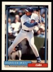 1992 Topps Traded #68 T Derrick May  Front Thumbnail