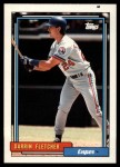 1992 Topps Traded #33 T Darrin Fletcher  Front Thumbnail