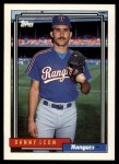 1992 Topps Traded #64 T Danny Leon  Front Thumbnail