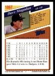 1993 Topps Traded #106 T Dave Magadan  Back Thumbnail