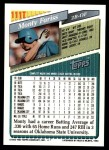 1993 Topps Traded #111 T Monty Fariss  Back Thumbnail