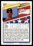 1993 Topps Traded #22 T  -  Dustin Hermanson Team USA Back Thumbnail