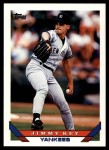 1993 Topps Traded #68 T Jimmy Key  Front Thumbnail