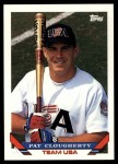 1993 Topps Traded #34 T Pat Clougherty  Front Thumbnail