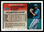 1994 Topps Traded #111 T Kurt Miller  Back Thumbnail