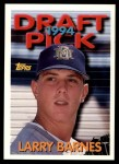 1994 Topps Traded #38 T Larry Barnes  Front Thumbnail