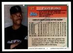 1994 Topps Traded #18 T Ellis Burks  Back Thumbnail