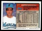 1994 Topps Traded #80 T Dave Magadan  Back Thumbnail