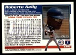 1995 Topps Traded #139 T Roberto Kelly  Back Thumbnail