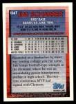 1995 Topps Traded #126 T Jim Scharrer  Back Thumbnail