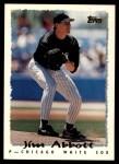 1995 Topps Traded #75 T Jim Abbott  Front Thumbnail
