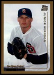 1999 Topps Traded #42 T Junior Herndon  Front Thumbnail