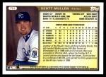1999 Topps Traded #57 T Scott Mullen  Back Thumbnail